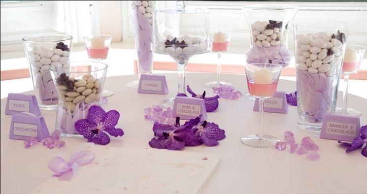 Super Decorazioni color lavanda per il matrimonio - Matrimonio Ideale CK95