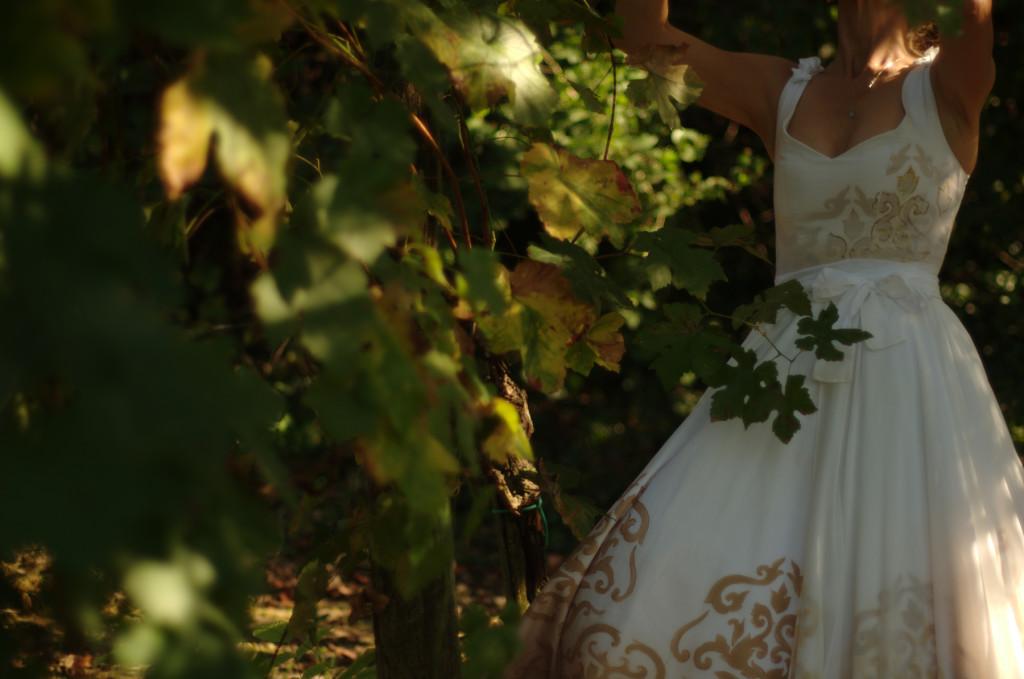 Abito da sposa artigianale: sartoria La Sposa Dipinta